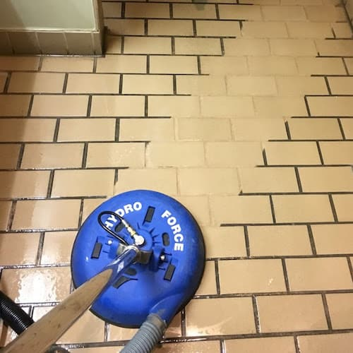 Office Tile Cleaning