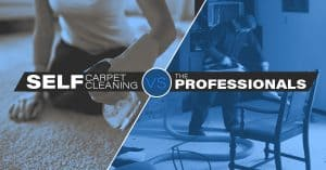 Self carpet cleaning vs. professional carpet cleaning