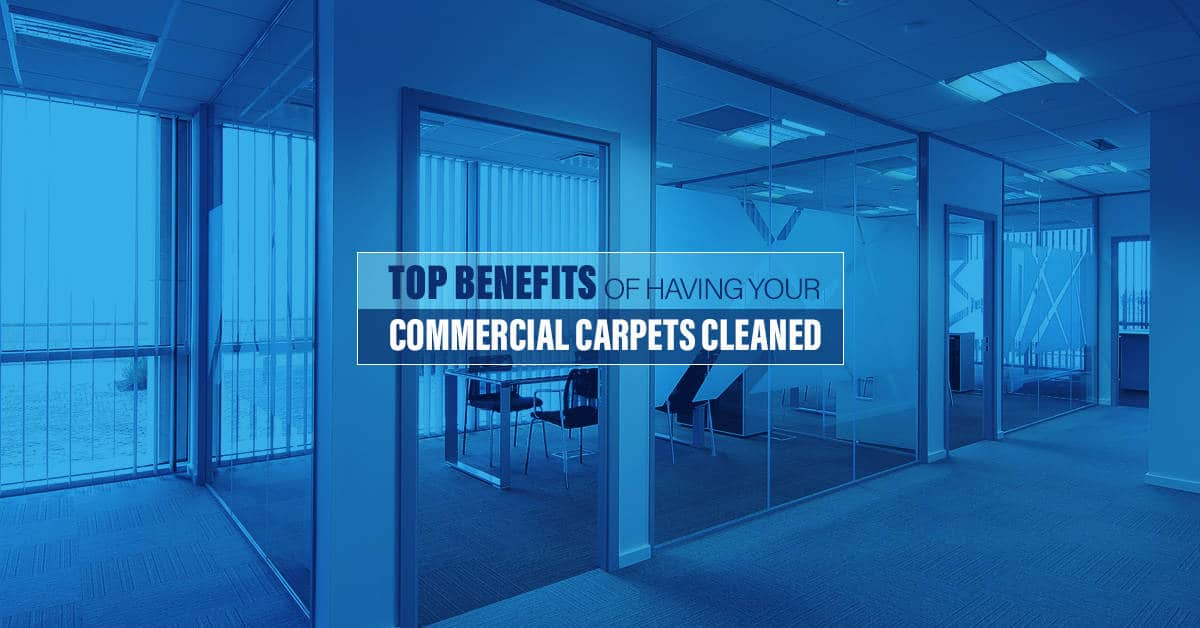 Top Benefits Of Commercial Carpet Cleaning Services