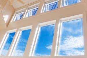 open windows to circulate air