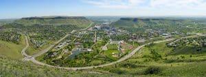 Golden Colorado City Overlook