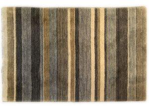 Wool Striped Rug Horizontal