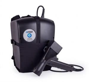 Emist electrostatic cleaner and disinfectant sprayer