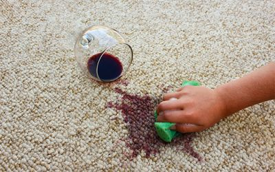 How to get Grape Juice Out of a Carpet
