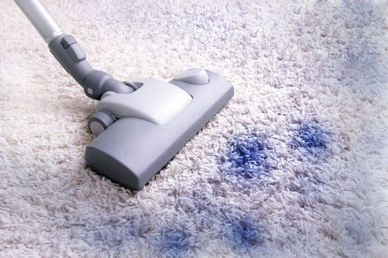 removing ink stain from carpet