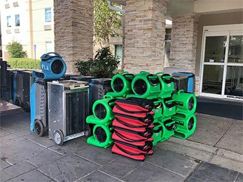 water damage restoration equipment