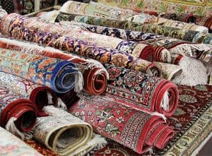 Oriental rugs to be cleaned